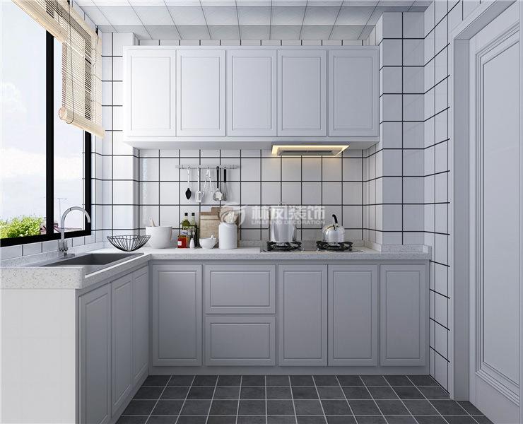 厨房安装平开门装修效果图