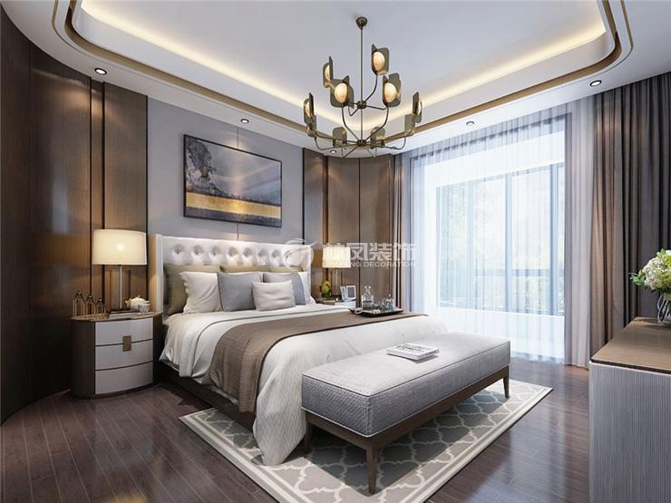 港式风格卧室装修效果图