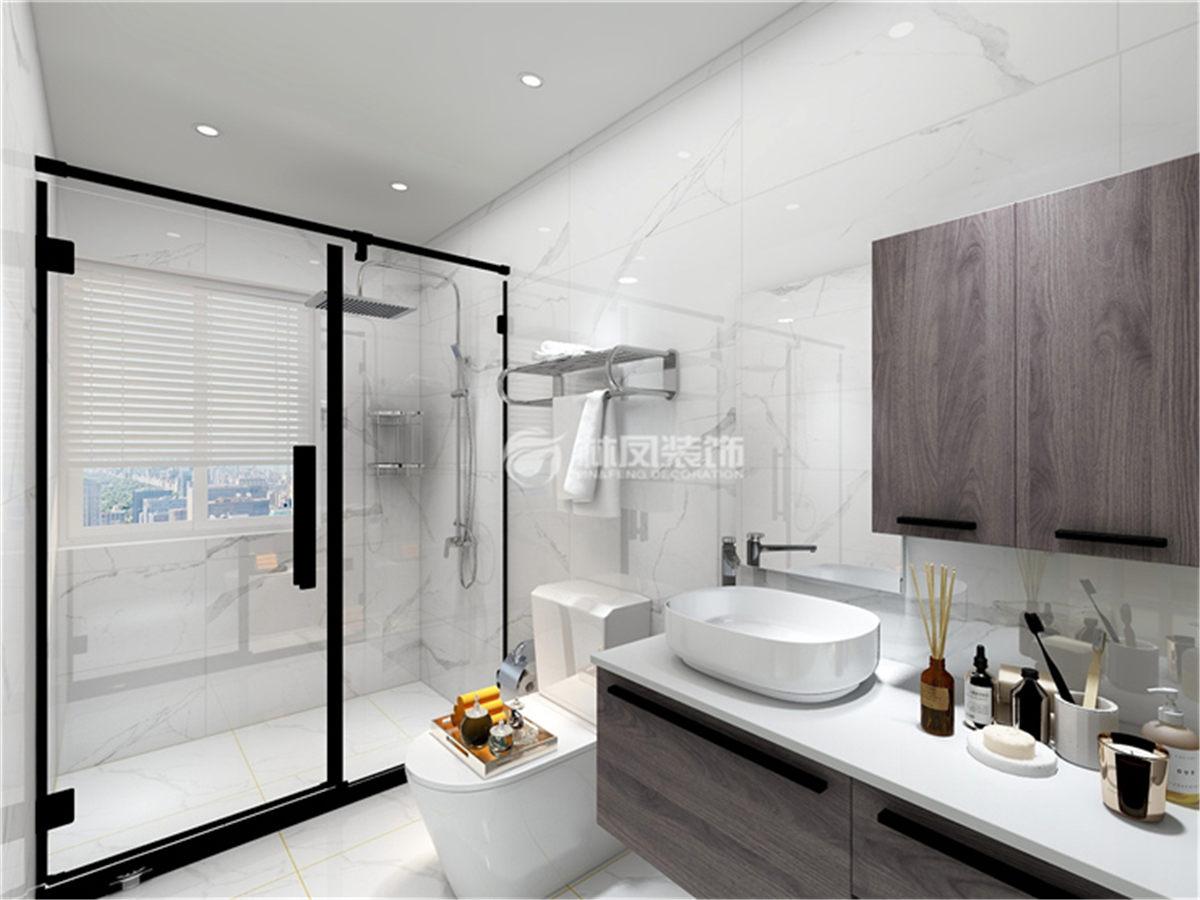 卫生间洗手盆装修效果图