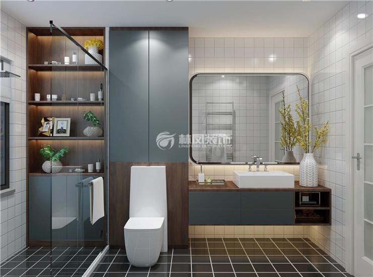 卫生间卫浴用品选择装修效果图